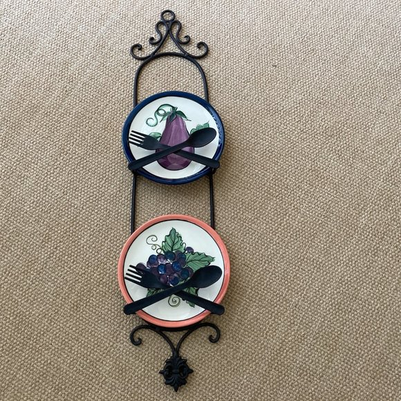 Two Plate  Metal Wall Hanger